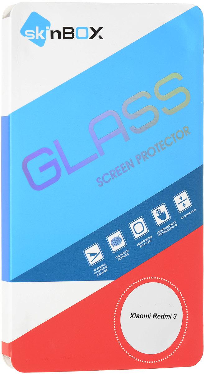 Skinbox защитное стекло для Xiaomi Redmi 3, Gloss2000000096544Защитное стекло Skinbox изготовлено из качественного японского материала Asahi Glass, с применением современных технологий закаливания и обработки стекла, что придает ему максимальную прочность 9H. Стекло надежно защитит экран мобильного устройства от ударов и царапин.
