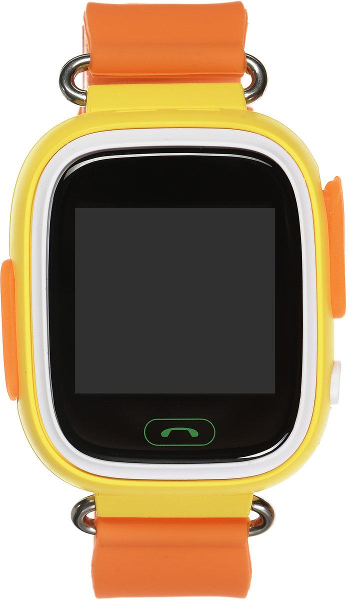 TipTop 80ЦС, Orange детские часы-телефон00124Детские умные часы-телефон TipTop с GPS-трекером созданы специально для детей и их родителей. С ними вы всегда будете знать, где находится ваш ребенок и что рядом с ним происходит. Как они работают и какие имеют преимущества? Управление часами происходит полностью через мобильное приложение, которое можно бесплатно скачать на AppStore или PlayMarket. Основные функции: 1. Родители с помощью мобильного приложения всегда видят на карте, где находится их ребенок. 2. В часы вставляется сим-карта. Родители всегда могут позвонить на часы, также ребенок может позвонить с часов на 3 самых важных номера - мама, папа, бабушка. Также можно разрешать или запрещать номерам звонить на часы, например, внести в список разрешенных звонков только номера телефонов близких и родных. 3. Родители могут слушать, что происходит рядом с ребенком - как няня обращается с ребенком, как ребенок отвечает на уроках. 4. На часах есть кнопка SOS - в случае опасности ребенок...
