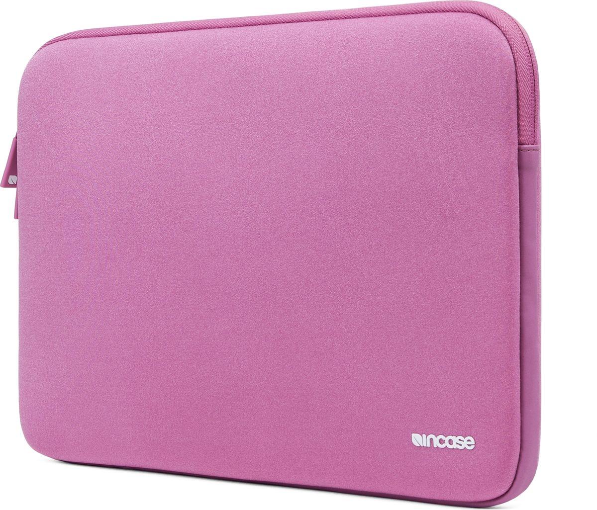 Incase Neoprene Classic Sleeve чехол для Apple MacBook 15, OrchidCL90044Тонкий чехол Incase Neoprene Classic Sleeve для Apple MacBook 15 выполнен из неопрена в элегантном строгом дизайне. Чехол надежно защищает устройство от царапин, не пропускает влагу и оснащен мягкой подкладкой, а также удобной застежкой-молнией.