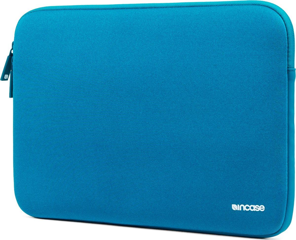 Incase Neoprene Classic Sleeve чехол для Apple MacBook 13, PeacockCL90047Тонкий чехол Incase Neoprene Classic Sleeve для Apple MacBook 13 выполнен из неопрена в элегантном строгом дизайне. Чехол надежно защищает устройство от царапин, не пропускает влагу и оснащен мягкой подкладкой, а также удобной застежкой-молнией.
