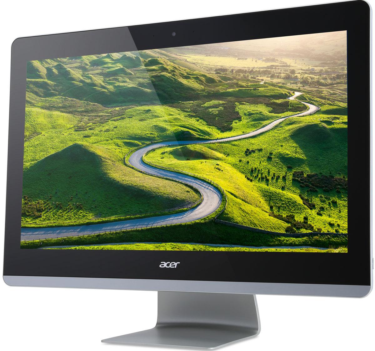 Acer Aspire Z3-715, Black моноблок (DQ.B2XER.002)DQ.B2XER.002Acer Aspire Z3-715 - универсальный компьютер, который позволяет наслаждаться играми и фильмами в кинематографическом качестве, не выходя из дома, благодаря 23,8-дюймовому экрану Full HD и фронтальным Hi-Fi динамикам Dolby Digital Plus. Стереодинамики с технологией Acer TrueHarmony и Dolby Digital Plus Home Theater обеспечивают превосходное качество звука. С легкостью прослушивайте песни с вашего мобильного устройства с помощью аудиосистемы премиум-класса Aspire Z3, связав два устройства через Bluetooth. 23,8-дюймовый экран Full HD обеспечивает непревзойденную четкость изображения и широкий угол обзора, что делает совместный просмотр еще более приятным. Благодаря реалистичной графике системы управления цветом Acer CineBoost Color Engine вы наслаждаетесь высочайшим в свое классе качеством мультимедиа. Точные характеристики зависят от модификации. Моноблок сертифицирован EAC и имеет русифицированную клавиатуру и Руководство...