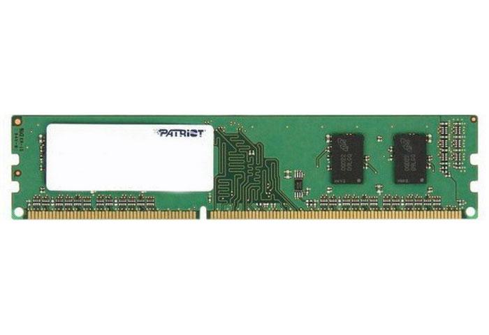 Patriot DDR3 DIMM 1GB 1333МГц модуль оперативной памяти (PSD31G133381)PSD31G133381Небуферизированная память Patriot DDR3 предоставляет качество работы, надежность и производительность, требуемую для современных компьютеров сегодня. Совместима с процессорами Intel второго поколения и платформами AMD-9. Этот модуль спроектирован для работы на частоте 1333 МГц PC3-10600 при таймингах CL9. Модуль собран при использовании специальных компонентов.
