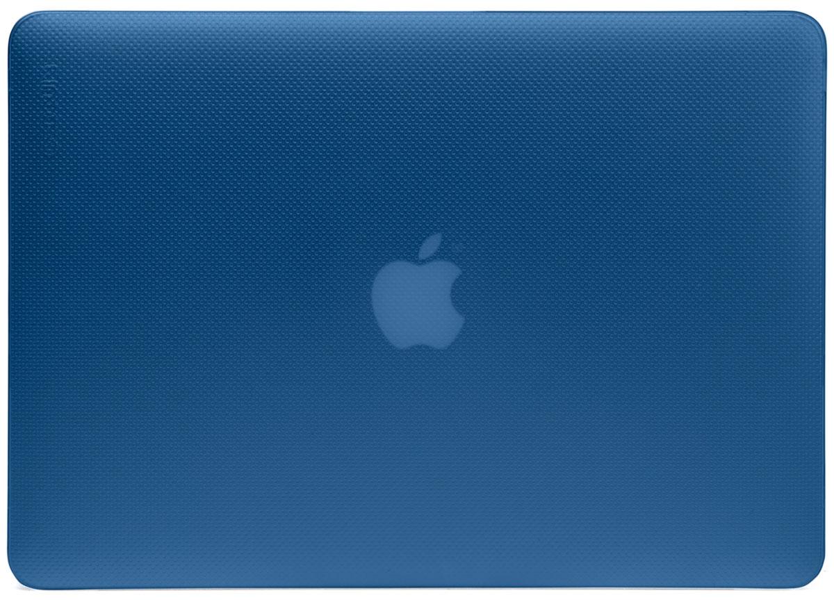Incase Hardshell Case Dots чехол для Apple MacBook Pro 13, Blue MoonCL60626Защитите свой MacBook и украсьте его в своём стиле с помощью лёгкого облегающего футляра Hardshell Case Dots от Incase. Он обеспечивает полную защиту, не закрывая доступ к разъёмам, индикаторам и кнопкам. Этот прочный футляр для MacBook выполнен в элегантном стиле. Благодаря литой конструкции и прорезиненным ножкам ноутбук хорошо зафиксирован на месте и не нагревается. Имеет вентиляционные отверстия для отвода тепловыделения.