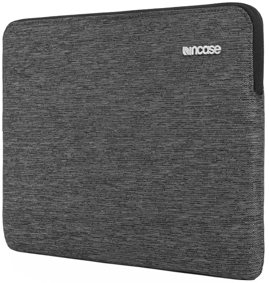 Incase Slim Sleeve чехол для Apple MacBook Air 11, Heather BlackCL60688Великолепный дизайн чехла Incase Slim Sleeve гармонично дополнит тонкий корпус MacBook, а подкладка из искусственного меха защитит его от царапин и ударов. Чехол Slim Sleeve изготовлен из ткани Ecoya, при производстве которой тратится меньше воды и выбрасывается меньше углекислого газа.