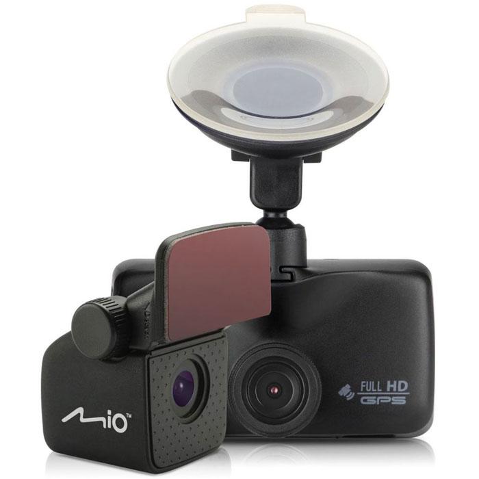 Mio MiVue 698, Black видеорегистратор5415N4890025Две камеры Mio MiVue 698 - это оптимальный контроль на дороге во всех направлениях. Устройство оснащено двумя слотами под карты памяти, что позволит вам в случае необходимости скопировать файлы на дополнительную карту Широкий угол обзора 140° позволяет получить полную картину всегда и везде. Ручная установка экспозиции видеорегистратора позволяет в сложных условиях освещённости, таких как снегопад или яркие солнечные лучи, регулировать яркость видео. Чтобы не отвлекать вас во время вождения, на дисплее будет указана текущая скорость движения и точное время. При приближении к камерам контроля скорости, на экране появится предупреждение об ограничении. Передовая оптическая система состоит из 5 высококачественных стеклянных линз и инфракрасного фильтра. Они пропускают больше света и создают более яркую и чёткую картинку. Оповещение о камерах SmartAlerts Запатентованное умное оповещение о камерах контроля...