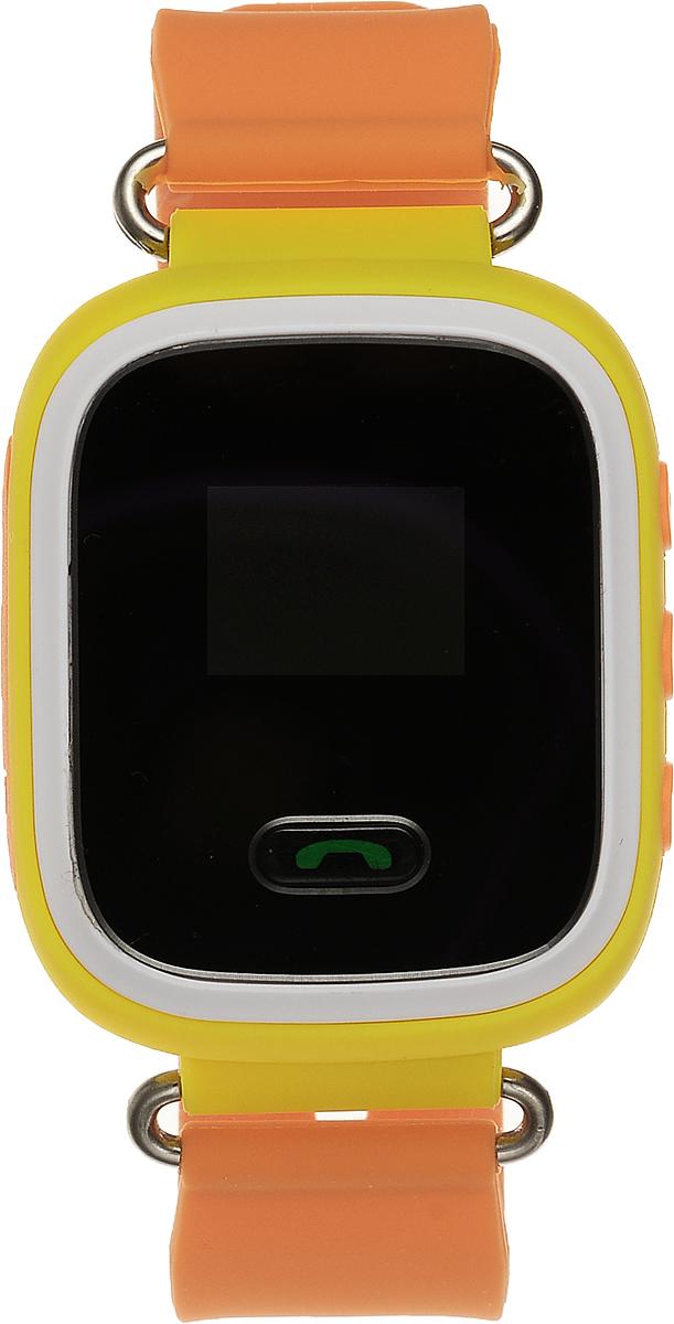 TipTop 60ЧБ, Orange детские часы-телефон00121Детские умные часы-телефон TipTop 60ЧБ с GPS - трекером созданы специально для детей и их родителей. С ними вы всегда будете знать, где находится ваш ребенок и что рядом с ним происходит. Как они работают и какие имеют преимущества? Управление часами происходит полностью через мобильное приложение, которое можно бесплатно скачать на AppStore или PlayMarket. Основные функции: Родители с помощью мобильного приложения всегда видят на карте где находится их ребенок В часы вставляется сим - карта. Родители всегда могут позвонить на часы, также ребенок может позвонить с часов на 3 самых важных номера - мама, папа, бабушка. Также можно разрешать или запрещать номерам звонить на часы, например внести в список разрешенных звонков только номера телефонов близких и родных Родители могут слушать, что происходит рядом с ребенком - как няня обращается с ребенком, как ребенок отвечает на уроках и др. На часах есть кнопка SOS - в случае...