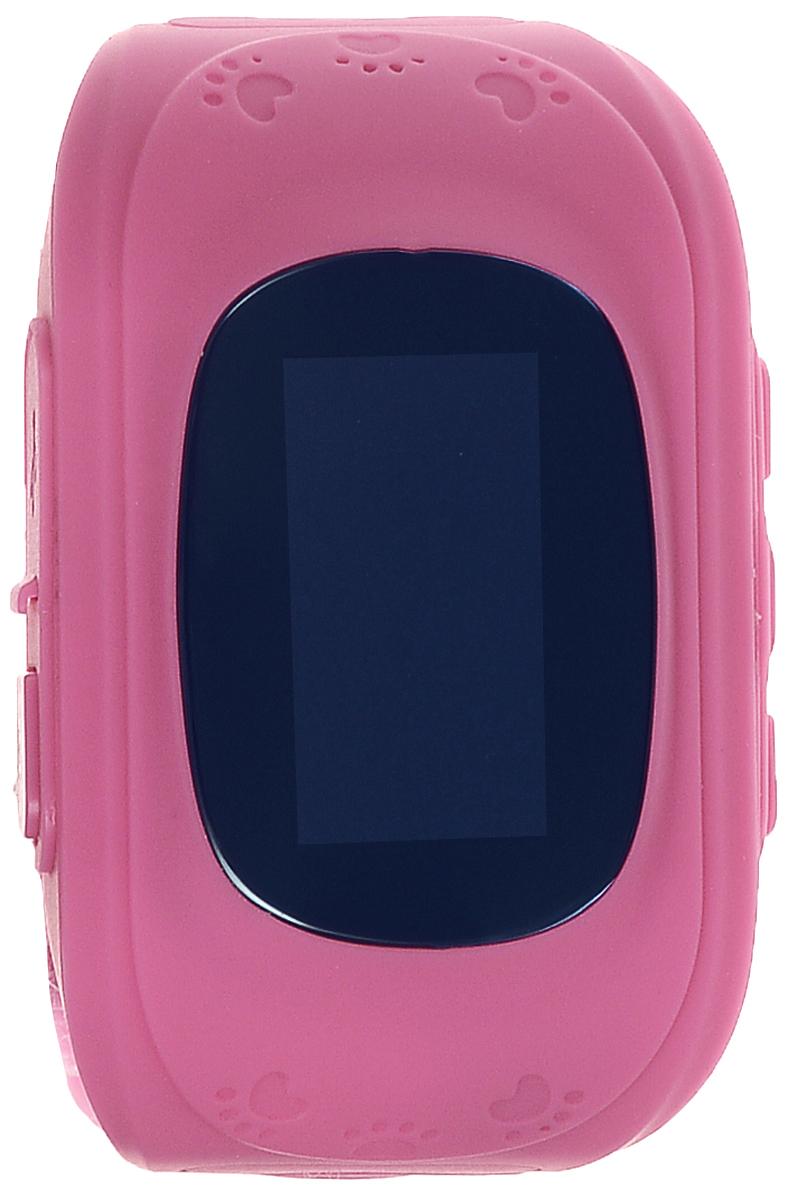 TipTop 50ЧБ, Pink детские часы-телефон00114Детские умные часы-телефон TipTop 50ЧБ с GPS - трекером созданы специально для детей и их родителей. С ними вы всегда будете знать, где находится ваш ребенок и что рядом с ним происходит. Как они работают и какие имеют преимущества? Управление часами происходит полностью через мобильное приложение, которое можно бесплатно скачать на AppStore или PlayMarket. Основные функции: Родители с помощью мобильного приложения всегда видят на карте где находится их ребенок В часы вставляется сим - карта. Родители всегда могут позвонить на часы, также ребенок может позвонить с часов на 3 самых важных номера - мама, папа, бабушка. Также можно разрешать или запрещать номерам звонить на часы, например внести в список разрешенных звонков только номера телефонов близких и родных Родители могут слушать, что происходит рядом с ребенком - как няня обращается с ребенком, как ребенок отвечает на уроках и др. На часах есть кнопка SOS - в случае...
