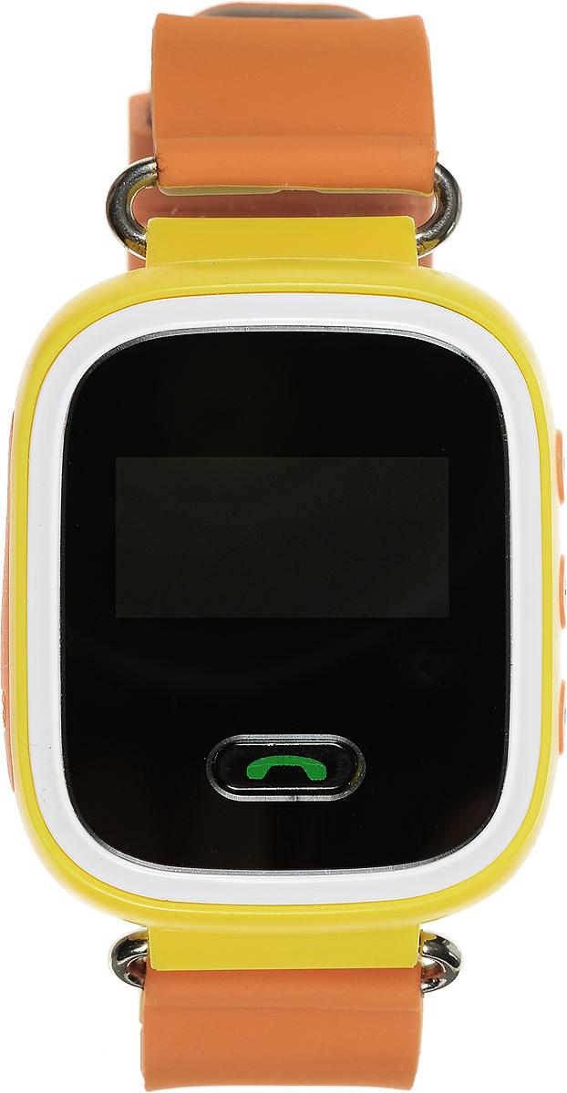 TipTop 60Ц, Orange детские часы-телефон00113Детские умные часы-телефон TipTop 60ЦВ с GPS-трекером созданы специально для детей и их родителей. С ними вы всегда будете знать, где находится ваш ребенок и что рядом с ним происходит. Управление часами происходит полностью через мобильное приложение, которое можно бесплатно скачать на AppStore или PlayMarket. Основные функции: В часы вставляется сим-карта. Родители всегда могут позвонить на часы, также ребенок может позвонить с часов на 3 самых важных номера - мама, папа, бабушка. Также можно разрешать или запрещать номерам звонить на часы, например, внести в список разрешенных звонков только номера телефонов близких и родных Родители могут слушать, что происходит рядом с ребенком - как няня обращается с ребенком, как ребенок отвечает на уроках На часах есть кнопка SOS - в случае опасности ребенок нажимает на эту кнопку, и часы автоматически дозваниваются на все 3 номера - кто быстрее ответит. Также высылают сообщение...