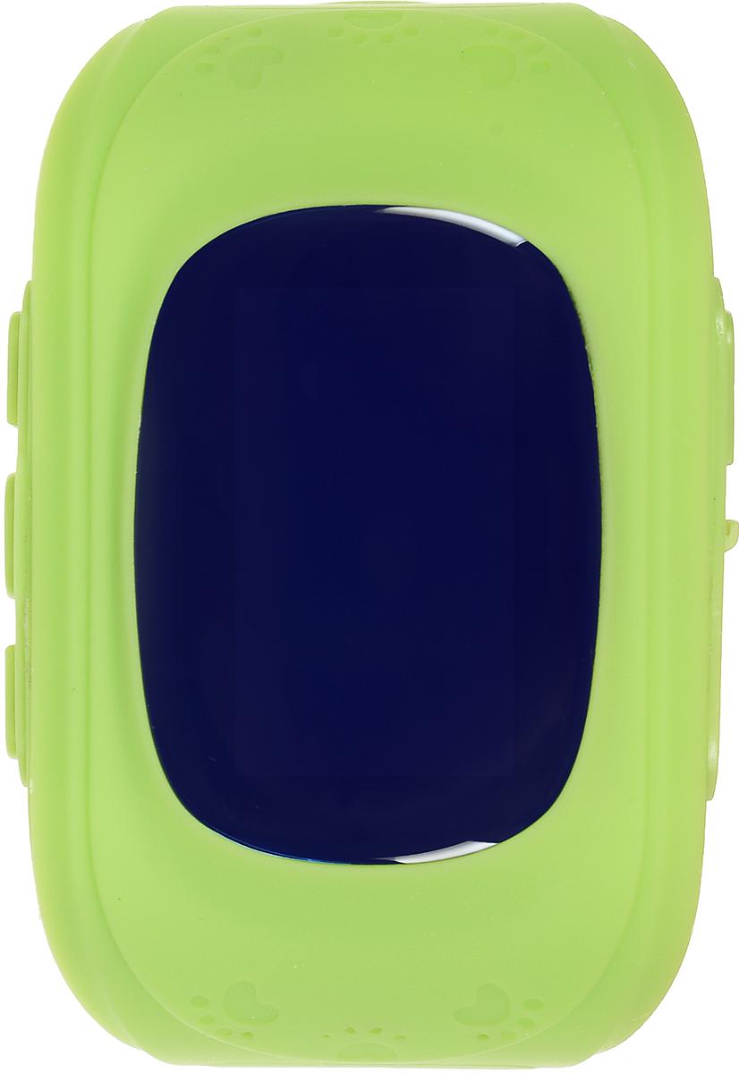 TipTop 50ЧБ, Green детские часы-телефон00116Детские умные часы-телефон TipTop 50ЧБ с GPS – трекером созданы специально для детей и их родителей. С ними вы всегда будете знать, где находится ваш ребенок и что рядом с ним происходит. Как они работают и какие имеют преимущества? Управление часами происходит полностью через мобильное приложение, которое можно бесплатно скачать на AppStore или PlayMarket. Основные функции: Родители с помощью мобильного приложения всегда видят на карте где находится их ребенок В часы вставляется сим - карта. Родители всегда могут позвонить на часы, также ребенок может позвонить с часов на 3 самых важных номера - мама, папа, бабушка. Также можно разрешать или запрещать номерам звонить на часы, например внести в список разрешенных звонков только номера телефонов близких и родных Родители могут слушать, что происходит рядом с ребенком - как няня обращается с ребенком, как ребенок отвечает на уроках и др. На часах есть кнопка SOS - в случае...