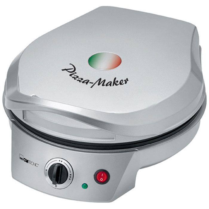 Clatronic PM 3622, Grey пицца-мейкерPM 3622 silberПиццамейкер CLATRONIC PM 3622 имеет регулировку степени нагрева. Благодаря верхнему и нижнему нагреву пицца пропекается равномерно. Прибор имеет антипригарное покрытие, что не даст вашей пицце подгореть. Также есть большая теплоизолированная ручка для болшего комфорта при работе.