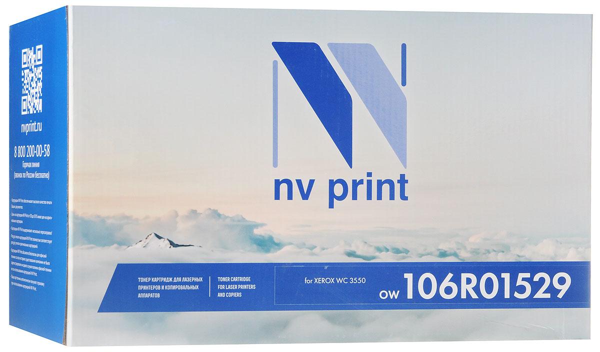 NV Print 106R01529, Black тонер-картридж для Xerox WC 3550NV-106R01529Совместимый лазерный картридж NV Print 106R01529 для печатающих устройств Xerox - это альтернатива приобретению оригинальных расходных материалов. При этом качество печати остается высоким. Картридж обеспечивает повышенную чёткость чёрного текста и плавность переходов оттенков серого цвета и полутонов, позволяет отображать мельчайшие детали изображения. Лазерные принтеры, копировальные аппараты и МФУ являются более выгодными в печати, чем струйные устройства, так как лазерных картриджей хватает на значительно большее количество отпечатков, чем обычных. Для печати в данном случае используются не чернила, а тонер.