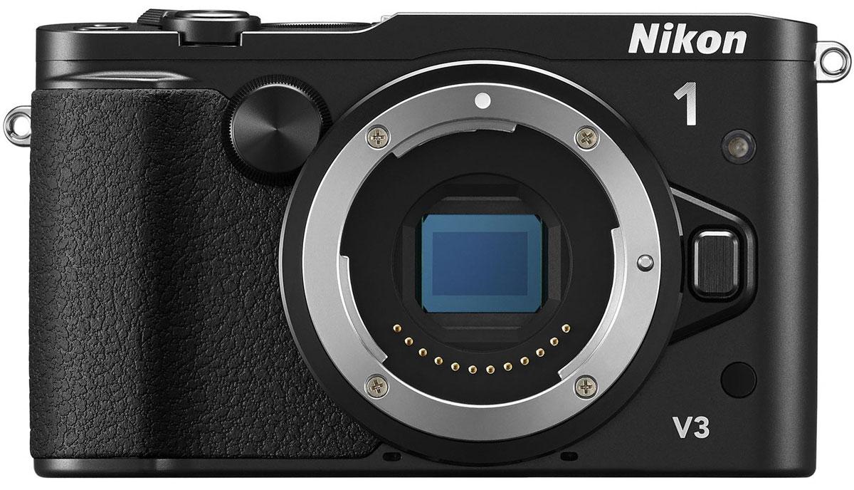 Nikon 1 V3 Body, Black цифровая фотокамераVVA231AENikon 1 V3 - это портативная системная фотокамера, обладающая производительностью профессионального класса, всегда поможет поймать нужный кадр. Революционная система гибридной АФ от компании Nikon позволяет с высокой точностью снять удивительные мгновения, которые длятся лишь доли секунды, а КМОП-матрица с разрешением 18,4 млн пикселей и чувствительностью 160–12800 единиц ISO гарантирует получение красивых детализированных изображений в формате RAW и видео HD при любом освещении. Благодаря продуманной эргономике Nikon 1 и гибкости применения системных принадлежностей управлять этой моделью так же удобно, как и цифровыми зеркальными фотокамерами. Сосредоточьтесь только на событиях в кадре, используя 171-точечную систему гибридной АФ. Снимайте за считанные мгновения на скорости до 20 кадров в секунду при непрерывной автофокусировке. Касаясь сенсорного экрана с малым временем отклика, фотограф может фокусироваться, выполнять съемку и ...