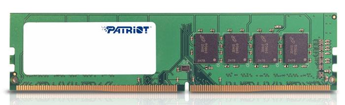 Patriot DDR4 DIMM 8GB 2133МГц модуль оперативной памяти (PSD48G213381)PSD48G213381Небуферезированная память Patriot DDR4 PSD48G213381 предоставляет качество работы, надежность и производительность - основные требования для современных компьютеров. Этот модуль емкостью 8 ГБ, спроектирован для работы на частоте 2133 МГц PC4-17000 и таймингах CAS 15 для лучшего отклика системы при использовании необходимых приложений. Модули памяти Patriot изготовлены из материалов высочайшего качества и протестированы вручную. Patriot заверяет, что каждый модуль памяти соответствует и превышает стандарты отрасли: апгрейд безо всяких замешательств.