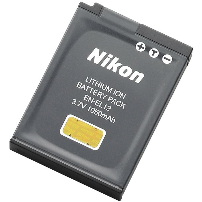 Nikon EN-EL12 аккумулятор для для AW100/P300/P310/S1200pj/S6150/S6200/S6300/S8200/S9100