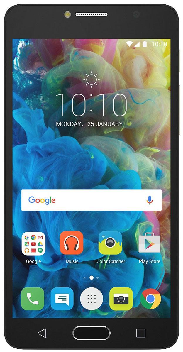 Alcatel OT-5095K POP 4S, Metal Gold5095K-2GALRU1Оставайтесь в центре внимания! Alcatel POP4S - это идеальный смартфон для тех, кто хочет выделиться из толпы и заявить о себе. Тонкий корпус, красивые плавные линии и Full HD IPS - экран с полной ламинацией делают его по- настоящему привлекательным. Благодаря 13-мегапиксельной камере и широкоугольному объективу POP4S вы сможете запечатлеть важные моменты, как, впрочем и создать их. Заряда вам хватит на долго благодаря аккумулятору с высоким запасом ёмкости - 2960 мАч. Пользуйтесь параллельно несколькими приложениями и всегда оставайтесь на связи с близкими людьми благодаря мощному 8-ядерному процессору и поддержке 4G. Hi-Fi звучание и безупречный стиль наушников JBL дарят особенное удовольствие от прослушивания музыки и просмотра видео. Благодаря сканеру отпечатков пальцев вы можете быть уверены в безопасности своих данных - 24 часа в сутки, 7 дней в неделю. Телефон сертифицирован EAC и имеет русифицированную...