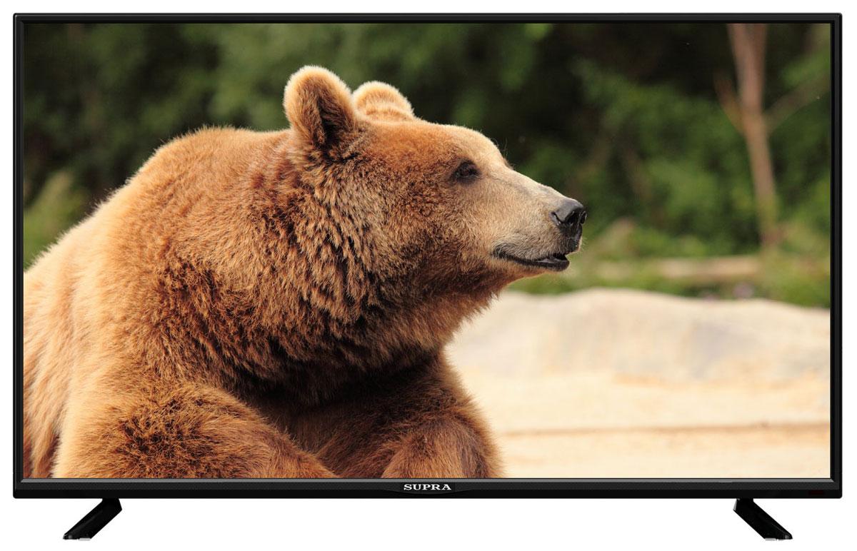 Supra STV-LC32T430WL телевизорSTV-LC32T430WLТелевизор Supra STV-LC32T430WL с насыщенной цветопередачей изображения на экране с разрешением 1366x768 HD и широкими углами обзора. Источником сигнала для качественной реалистичной картинки служат не только цифровые эфирные и кабельные каналы, но и любые записи с внешних носителей, благодаря универсальному встроенному USB медиаплееру. Количество цветов:16,7 миллионов Поддержка HDTV Яркость: 250 кд/м2 Динамическая контрастность: 80000:1 Угол обзора: 176°/176° Время отклика пикселя: 5 мс