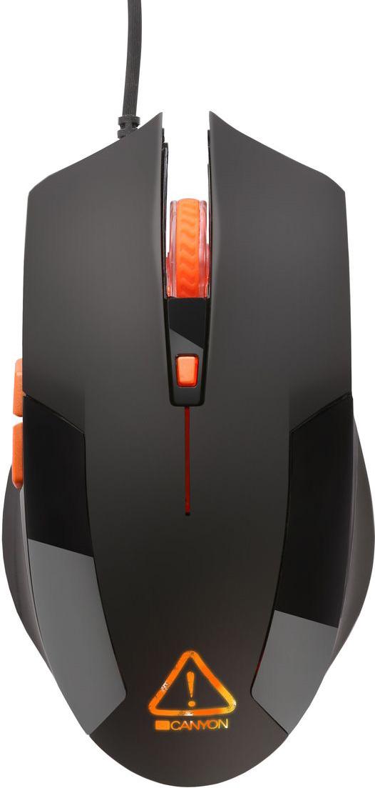 Canyon CND-SGM2, Black игровая мышь