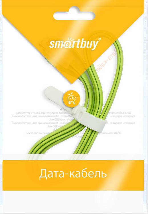 Smartbuy iK-512m, Green дата-кабель USB-8-pin (1,2 м)iK-512m greenКабель Smartbuy iK-512m, для подключения устройств Apple к USB-порту компьютера или зарядки. Позволяет производить быструю зарядку электронного устройства и обеспечивает надежную синхронизацию с PC или Mac.