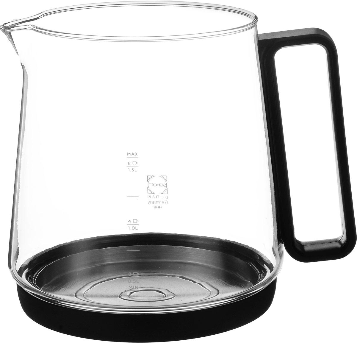 Princess 901.236007.006, Clear Silver чаша стеклянная для чайника901.236007.006Чаша из высококачественного термоупрочненного стекла Schott Duran предназначена для индукционного чайника Princess 236007. В ней можно как кипятить воду, так и заваривать чай. Максимальная емкость аксессуара составляет 1,7 литра, а уровень мерной шкалы - 1,5 литра.