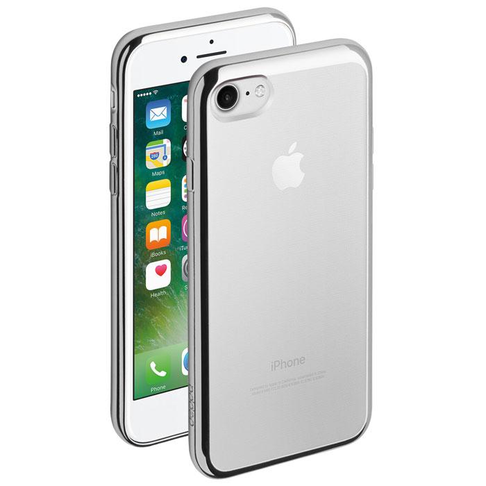 Deppa Gel Plus Case чехол для Apple iPhone 7, Silver85254Чехол Deppa Gel Plus Case из TPU производства Bayer предназначен для защиты корпуса смартфона от механических повреждений и царапин в процессе эксплуатации. Имеется свободный доступ ко всем разъемам и кнопкам устройства. Толщина: 0.9 мм