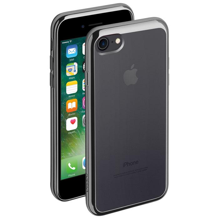 Deppa Gel Plus Case чехол для Apple iPhone 7, Graphite85255Чехол Deppa Gel Plus Case из TPU производства Bayer предназначен для защиты корпуса смартфона от механических повреждений и царапин в процессе эксплуатации. Имеется свободный доступ ко всем разъемам и кнопкам устройства. Толщина: 0.9 мм