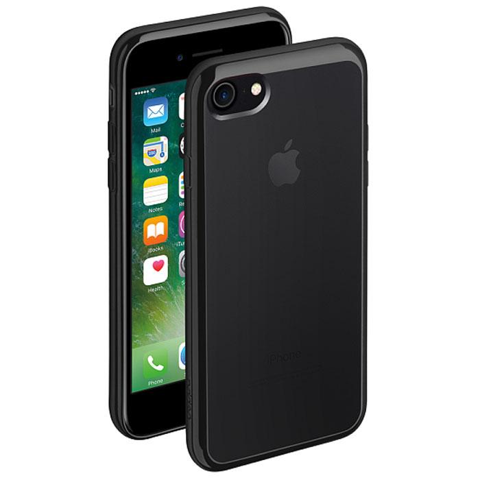 Deppa Gel Plus Case чехол для Apple iPhone 7, Black85253Чехол Deppa Gel Plus Case из TPU производства Bayer предназначен для защиты корпуса смартфона от механических повреждений и царапин в процессе эксплуатации. Имеется свободный доступ ко всем разъемам и кнопкам устройства. Толщина: 0.9 мм