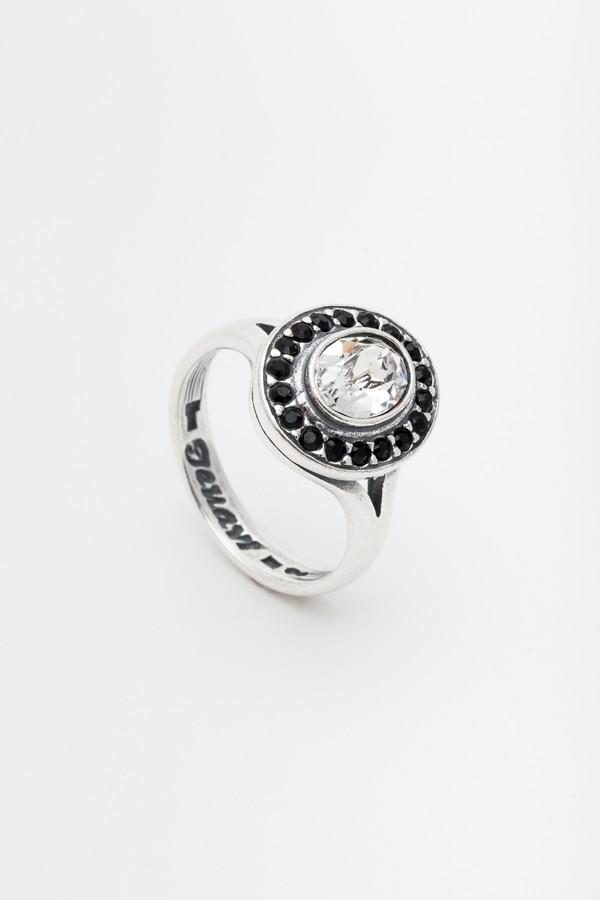 Кольцо Jenavi Murano. Навогеро, цвет: серебро, мультиколор. r4683006. Размер 16r4683006Коллекция Murano, Навогеро (Кольцо) гипоаллергенный ювелирный сплав,Черненое серебро, вставка Кристаллы Swarovski , цвет - серебро, мультиколор, размер - 16