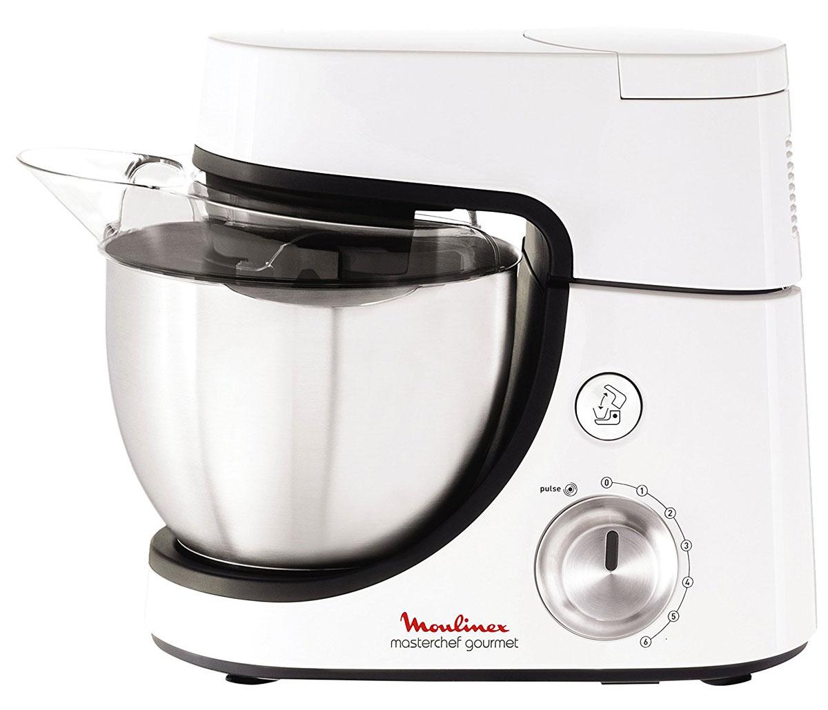 Moulinex QA5001B1 кухонная машина8000035561Благодаря функции планетарного смешивания и 6 скоростям работы кухонная машина Moulinex QA5001B1 тщательно перемешивает ингредиенты, не оставляя комочков. С помощью запатентованного дизайна удлиненного венчика Flex Whisk и специальной насадке-крюку вы получите идеальное тесто любой консистенции.