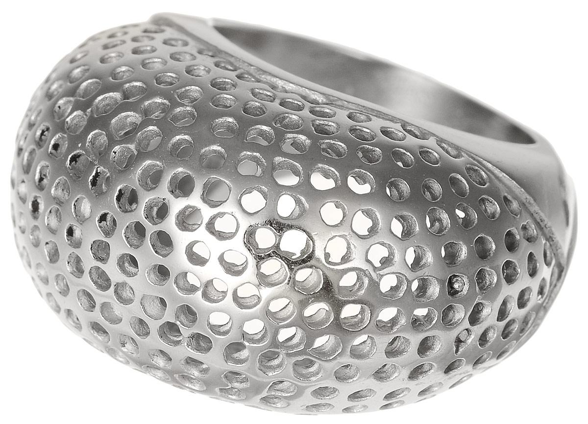 Кольцо Polina Selezneva, цвет: серебристый. DG-0024. Размер 17DG-0024Стильное кольцо Polina Selezneva изготовлено из качественного металлического сплава. Кольцо оформлено декоративной перфорацией.