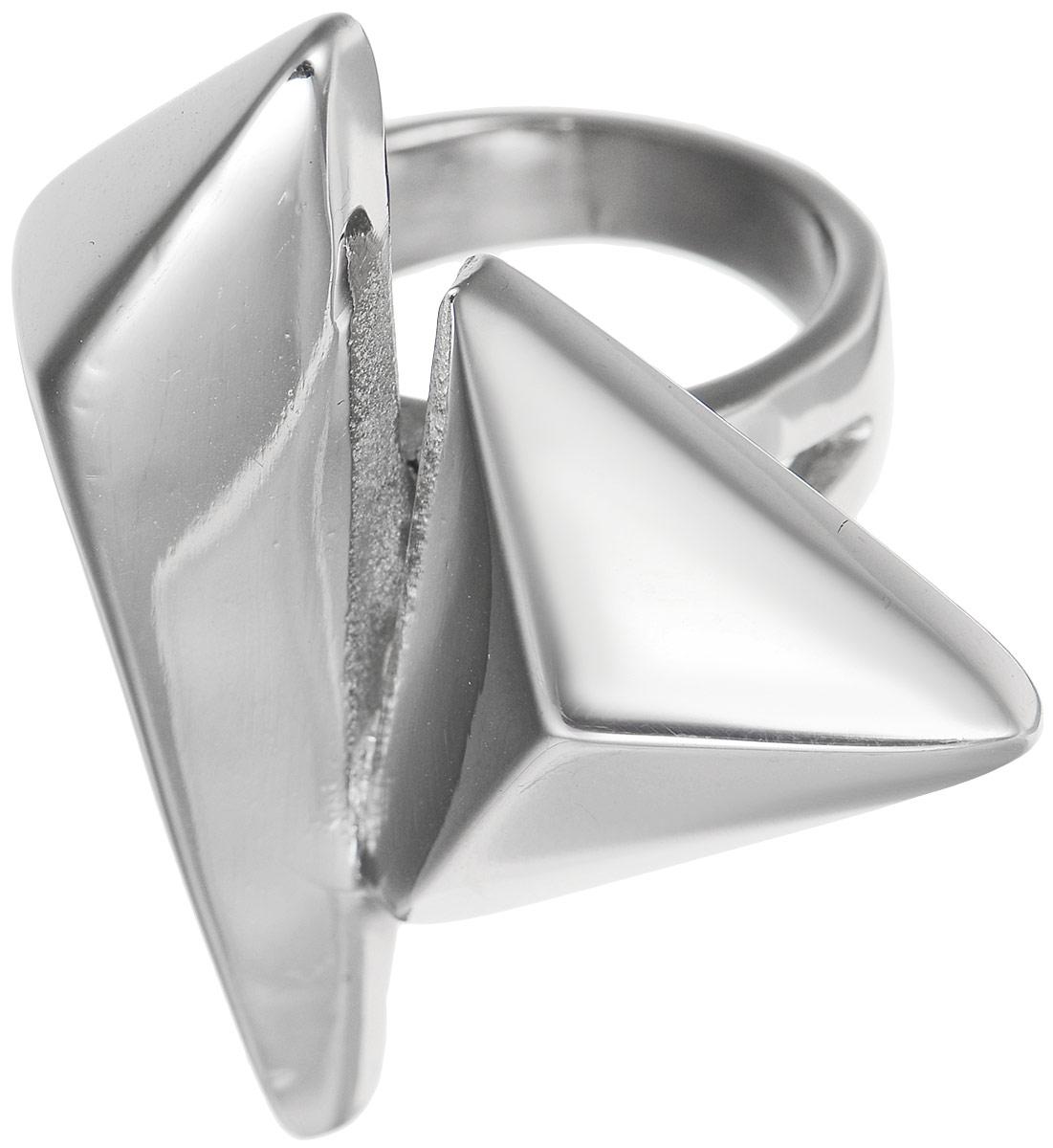 Кольцо Polina Selezneva, цвет: серебристый. DG-0013. Размер 20DG-0013Стильное кольцо Polina Selezneva изготовлено из качественного металлического сплава. Декоративная часть выполнена в оригинальной форме.