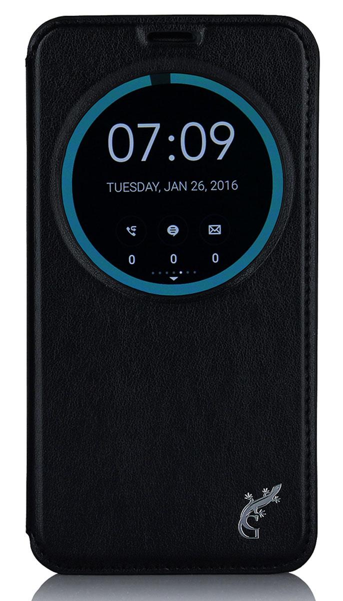G-Case Slim Premium для Asus ZenFone Go ZB551KL/Go TV G550KL, BlackGG-739Чехол-книжка G-Case Slim Premium для Asus ZenFone Go ZB551KL/Go TV G550KL c круглым окошком надежно защитит ваш смартфон от пыли, грязи, царапин, оставив при этом свободный доступ ко всем разъемам устройства. Также имеется возможность использования чехла в виде настольной подставки. Чехол G-case Slim Premium - это стильная и элегантная деталь вашего образа, которая всегда обращает на себя внимание среди множества вещей.