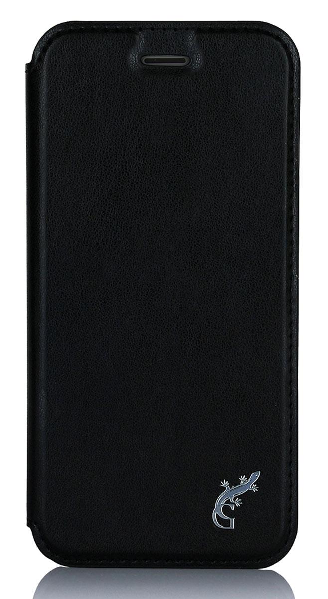 G-Case Slim Premium чехол для Apple iPhone 7, BlackGG-743Чехол-книжка G-Сase Slim Premium для Apple iPhone 7 надежно защитит ваш смартфон от пыли, грязи, царапин, оставив при этом свободный доступ ко всем разъемам устройства. Также имеется возможность использования чехла в виде настольной подставки. Чехол G-Сase Slim Premium - это стильная и элегантная деталь вашего образа, которая всегда обращает на себя внимание среди множества вещей.