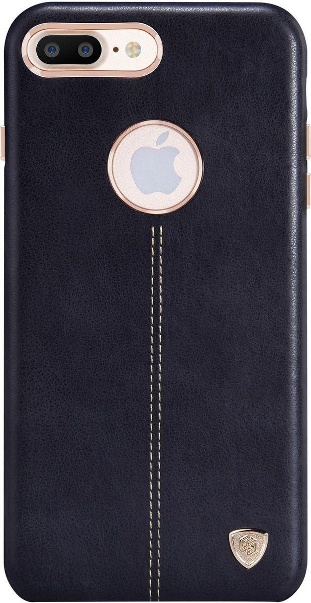 Nillkin Englon Leather Cover чехол для Apple iPhone 7 Plus, Black2000000100319Чехол Nillkin Englon для Apple iPhone 7 Plus надежно защищает ваш смартфон от внешних воздействий, грязи, пыли, брызг. Он также поможет при ударах и падениях, не позволив образоваться на корпусе царапинам и потертостям. Внутри чехла встроена магнитная площадка для крепления к магнитным держателям. Чехол обеспечивает свободный доступ ко всем функциональным кнопкам смартфона и камере.