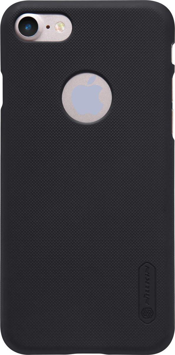 Nillkin Super Frosted Shield чехол для Apple iPhone 7, Black2000000100432Чехол Nillkin Super Frosted Shield для Apple iPhone 7 разработан специально для данной модели телефона и обеспечивает доступ ко всем кнопкам и портам. Он надежно защищает ваш смартфон от внешних воздействий, грязи, пыли, брызг, также поможет при ударах и падениях, не позволив образоваться на корпусе царапинам и потертостям. Задняя сторонка чехла изготовлена из шершавого пластика, который не даст телефону выскользнуть из рук.
