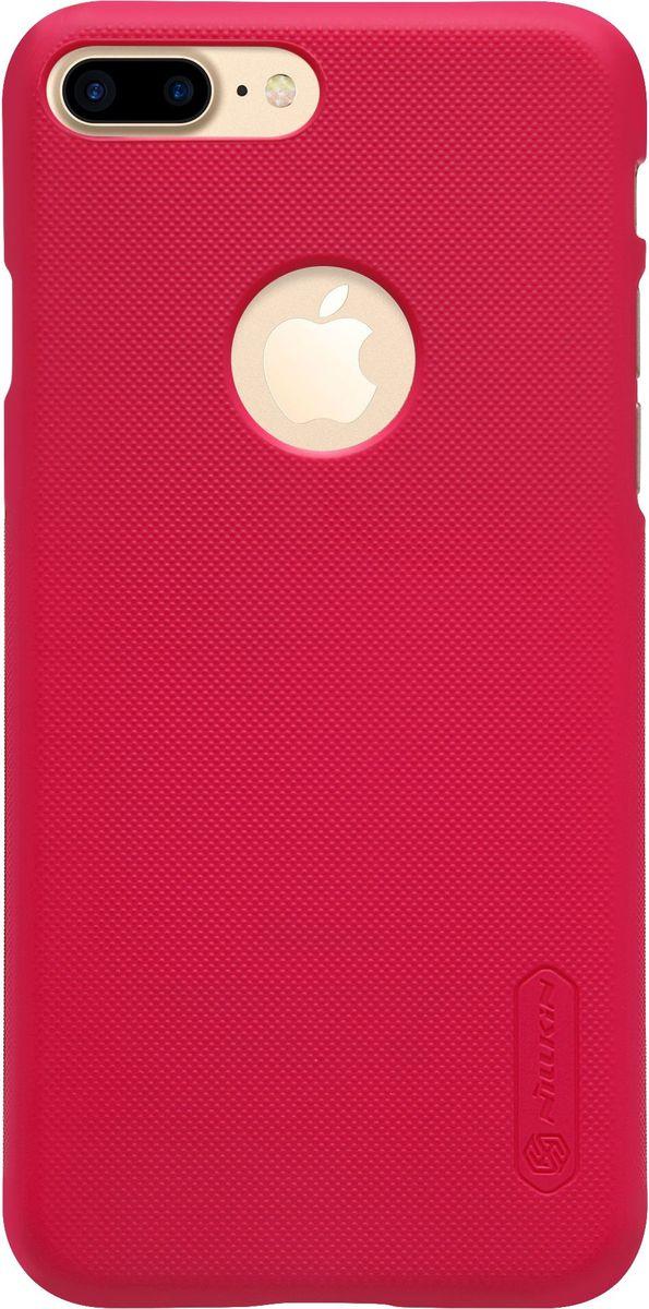 Nillkin Super Frosted Shield чехол для Apple iPhone 7 Plus, Red2000000100906Чехол Nillkin Super Frosted Shield для Apple iPhone 7 Plus разработан специально для данной модели телефона и обеспечивает доступ ко всем кнопкам и портам. Он надежно защищает ваш смартфон от внешних воздействий, грязи, пыли, брызг, также поможет при ударах и падениях, не позволив образоваться на корпусе царапинам и потертостям. Задняя сторонка чехла изготовлена из шершавого пластика, который не даст телефону выскользнуть из рук.