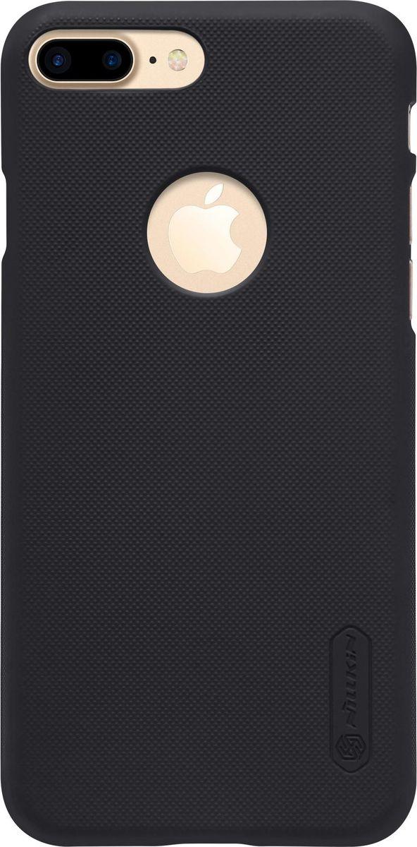 Nillkin Super Frosted Shield чехол для Apple iPhone 7 Plus, Black2000000100937Чехол Nillkin Super Frosted Shield для Apple iPhone 7 Plus разработан специально для данной модели телефона и обеспечивает доступ ко всем кнопкам и портам. Он надежно защищает ваш смартфон от внешних воздействий, грязи, пыли, брызг, также поможет при ударах и падениях, не позволив образоваться на корпусе царапинам и потертостям. Задняя сторонка чехла изготовлена из шершавого пластика, который не даст телефону выскользнуть из рук.