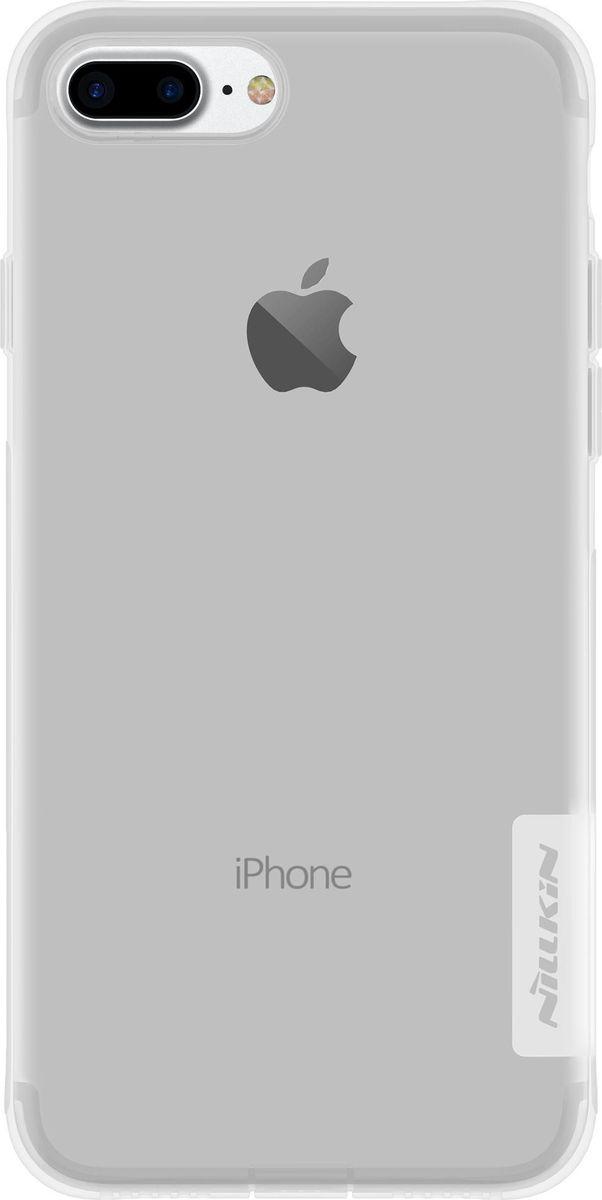 Nillkin Nature Case чехол для Apple iPhone 7 Plus, White2000000100944Чехол Nillkin Nature для Apple iPhone 7 Plus надежно защитит ваш смартфон от внешних воздействий, грязи, пыли, брызг. Он также поможет при ударах и падениях, не позволив образоваться на корпусе царапинам и потертостям. Чехол обеспечивает свободный доступ ко всем функциональным кнопкам смартфона и камере.