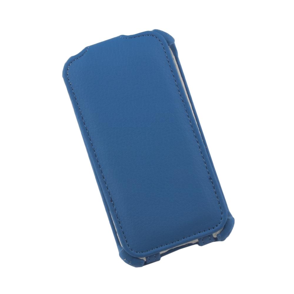 Liberty Project чехол-флип для Apple iPhone 4/4S, Blue0L-00002587Флип-чехол Liberty Project для Apple iPhone 4/4S надежно защищает ваш смартфон от внешних воздействий, грязи, пыли, брызг. Он также поможет при ударах и падениях, не позволив образоваться на корпусе царапинам и потертостям. Обеспечивает свободный доступ ко всем разъемам и элементам управления.