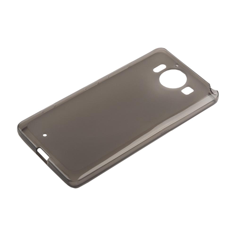 Liberty Project чехол для Microsoft Lumia 950, Clear Black0L-00027288Чехол Liberty Project для Microsoft Lumia 950 надежно защищает ваш смартфон от внешних воздействий, грязи, пыли, брызг. Он также поможет при ударах и падениях, не позволив образоваться на корпусе царапинам и потертостям. Чехол обеспечивает свободный доступ ко всем разъемам и кнопкам устройства.