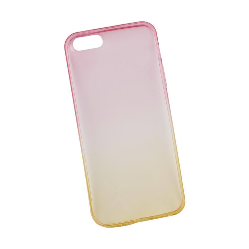 Liberty Project чехол для Apple iPhone 5/5s, Yellow Pink0L-00027299Чехол Liberty Project для Apple iPhone 5/5s надежно защищает ваш смартфон от внешних воздействий, грязи, пыли, брызг. Он также поможет при ударах и падениях, не позволив образоваться на корпусе царапинам и потертостям. Чехол обеспечивает свободный доступ ко всем разъемам и кнопкам устройства.