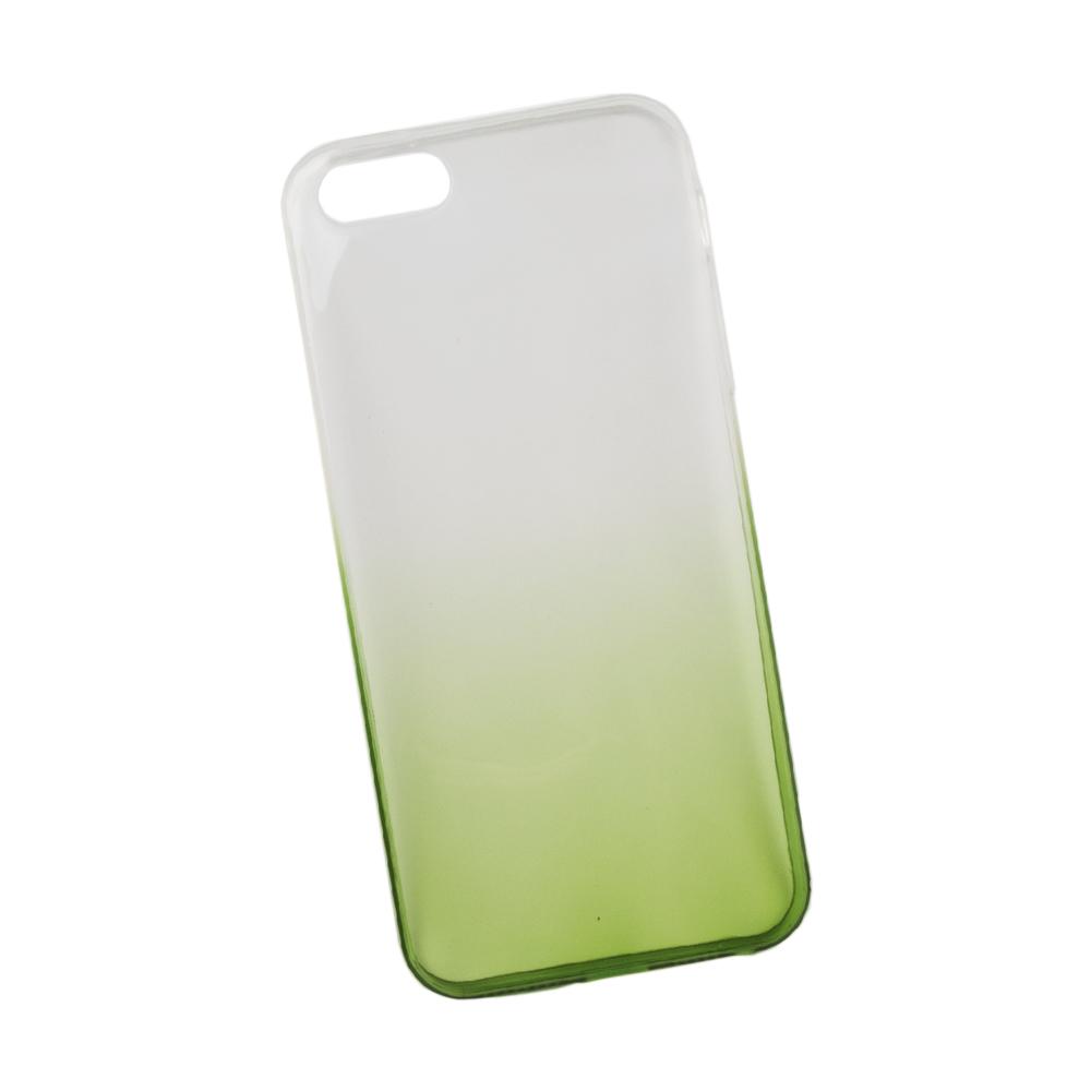 Liberty Project чехол для Apple iPhone 5/5s, White Green0L-00027382Чехол Liberty Project для Apple iPhone 5/5s надежно защищает ваш смартфон от внешних воздействий, грязи, пыли, брызг. Он также поможет при ударах и падениях, не позволив образоваться на корпусе царапинам и потертостям. Чехол обеспечивает свободный доступ ко всем разъемам и кнопкам устройства.