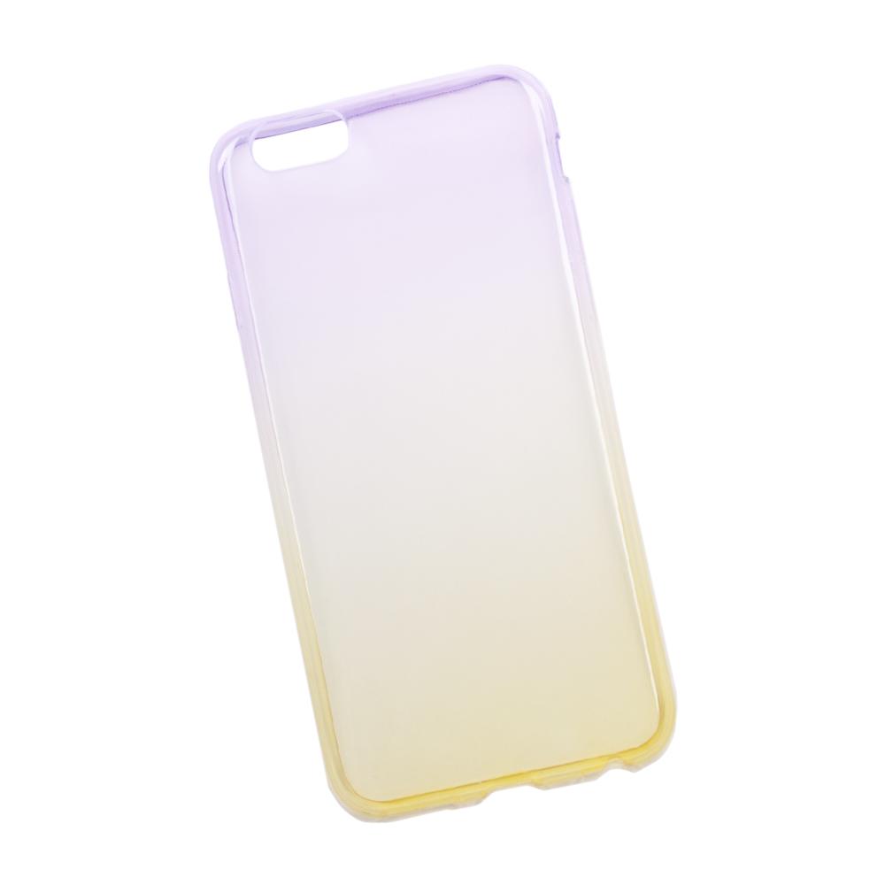 Liberty Project чехол для Apple iPhone 6/6s, Purple Yellow0L-00027383Чехол Liberty Project для Apple iPhone 6/6s надежно защищает ваш смартфон от внешних воздействий, грязи, пыли, брызг. Он также поможет при ударах и падениях, не позволив образоваться на корпусе царапинам и потертостям. Чехол обеспечивает свободный доступ ко всем разъемам и кнопкам устройства.