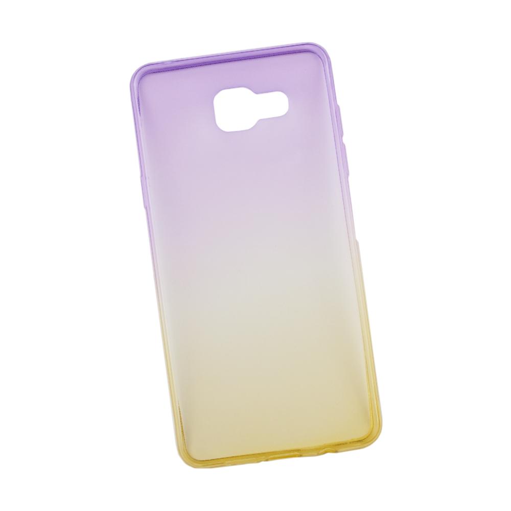 Liberty Project чехол для Samsung Galaxy A5 2016, Purple Yellow0L-00027390Чехол Liberty Project для Samsung Galaxy A5 (2016) надежно защищает ваш смартфон от внешних воздействий, грязи, пыли, брызг. Он также поможет при ударах и падениях, не позволив образоваться на корпусе царапинам и потертостям. Чехол обеспечивает свободный доступ ко всем разъемам и кнопкам устройства.