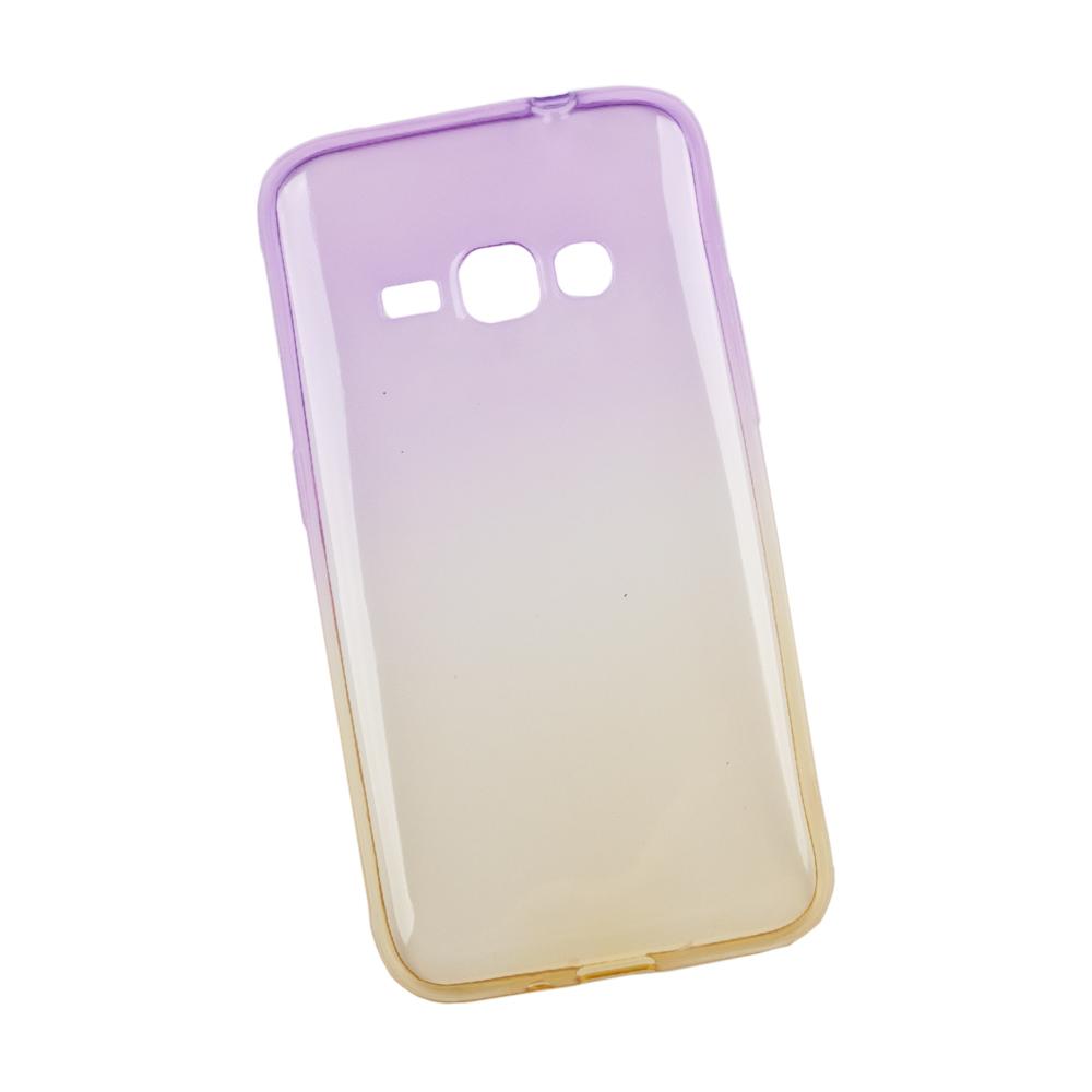 Liberty Project чехол для Samsung Galaxy J1 2016, Purple Yellow0L-00027394Чехол Liberty Project для Samsung Galaxy J1 (2016) надежно защищает ваш смартфон от внешних воздействий, грязи, пыли, брызг. Он также поможет при ударах и падениях, не позволив образоваться на корпусе царапинам и потертостям. Чехол обеспечивает свободный доступ ко всем разъемам и кнопкам устройства.