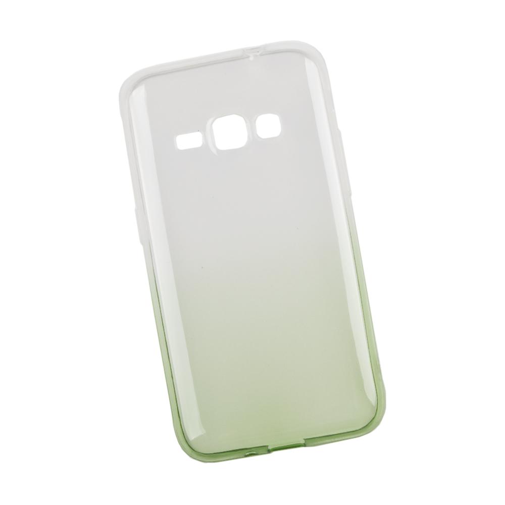 Liberty Project чехол для Samsung Galaxy J1 2016, White Green0L-00027397Чехол Liberty Project для Samsung Galaxy J1 (2016) надежно защищает ваш смартфон от внешних воздействий, грязи, пыли, брызг. Он также поможет при ударах и падениях, не позволив образоваться на корпусе царапинам и потертостям. Чехол обеспечивает свободный доступ ко всем разъемам и кнопкам устройства.