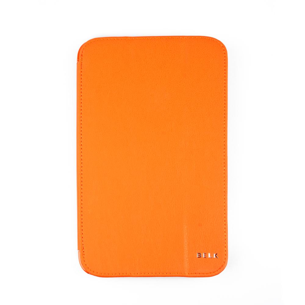 Belk чехол для Samsung Galaxy Tab 3 8,0, OrangeR0000336Чехол Belk для Samsung Galaxy Tab 3 8,0 надежно защищает ваш планшет от внешних воздействий, грязи, пыли, брызг. Он также поможет при ударах и падениях, не позволив образоваться на корпусе царапинам и потертостям. Чехол обеспечивает свободный доступ ко всем разъемам и кнопкам устройства.