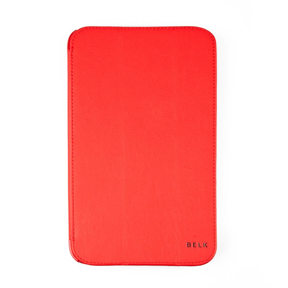 Belk чехол для Samsung Galaxy Tab 3 8,0, RedR0001195Чехол Belk для Samsung Galaxy Tab 3 8,0 надежно защищает ваш планшет от внешних воздействий, грязи, пыли, брызг. Он также поможет при ударах и падениях, не позволив образоваться на корпусе царапинам и потертостям. Чехол обеспечивает свободный доступ ко всем разъемам и кнопкам устройства.