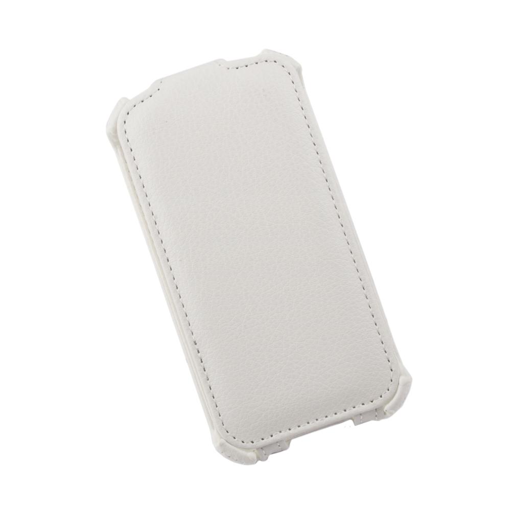 Liberty Project чехол-флип для Apple iPhone 4/4S, WhiteR0006532Флип-чехол Liberty Project для Apple iPhone 4/4S надежно защищает ваш смартфон от внешних воздействий, грязи, пыли, брызг. Он также поможет при ударах и падениях, не позволив образоваться на корпусе царапинам и потертостям. Обеспечивает свободный доступ ко всем разъемам и элементам управления.