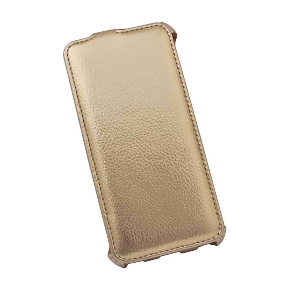 Liberty Project чехол-флип для Apple iPhone 6/6s, GoldR0007559Флип-чехол Liberty Project для Apple iPhone 6/6s надежно защищает ваш смартфон от внешних воздействий, грязи, пыли, брызг. Он также поможет при ударах и падениях, не позволив образоваться на корпусе царапинам и потертостям. Обеспечивает свободный доступ ко всем разъемам и элементам управления.