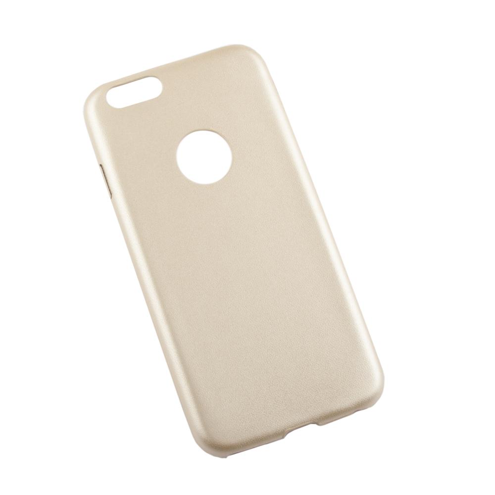 Liberty Project чехол для Apple iPhone 6/6s, GoldR0007653Чехол Liberty Project для Apple iPhone 6/6s надежно защищает ваш смартфон от внешних воздействий, грязи, пыли, брызг. Он также поможет при ударах и падениях, не позволив образоваться на корпусе царапинам и потертостям. Чехол обеспечивает свободный доступ ко всем разъемам и кнопкам устройства.